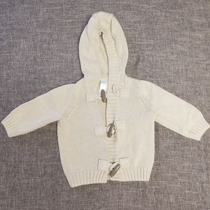 Gymboree 3-6 month hooded sweater
